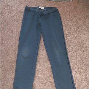 Abercrombie s/m blue women's sweatpants
